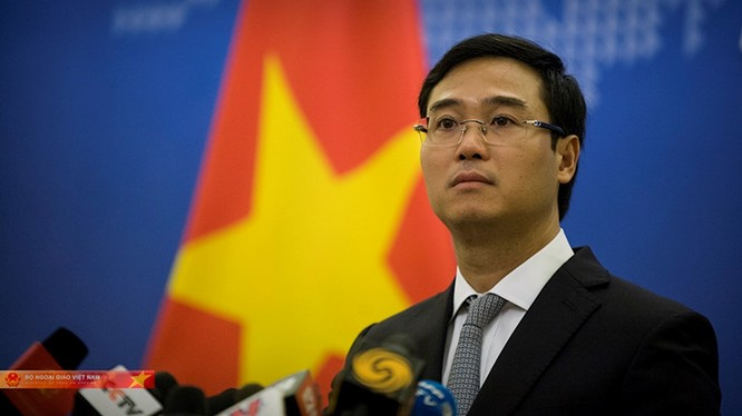 ông Ngô Toàn Thắng, Phó phát ngôn viên Bộ Ngoại giao (ảnh: Thanh Niên)