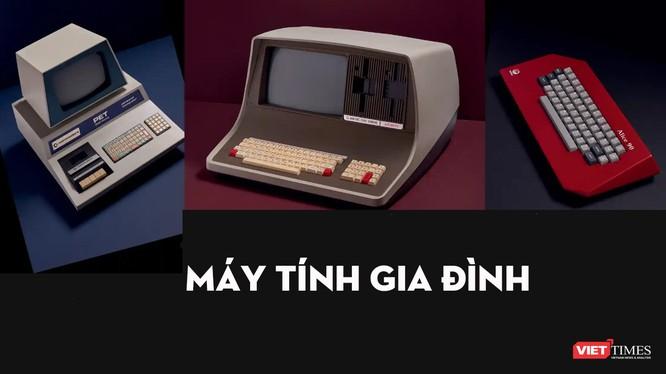 Máy tính cá nhân của những thập niên trước có thiết kế khác xa so với những chiếc máy tính hiện đại ngày nay