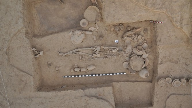 Hài cốt của một phụ nữ sống cách đây gần 5.000 năm (ảnh minh họa: The Atlantic)