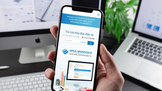 phần mềm hóa đơn điện tử meInvoice.vn – Top 10 sản phẩm CNTT xuất sắc nhất tại Sao Khuê 2020