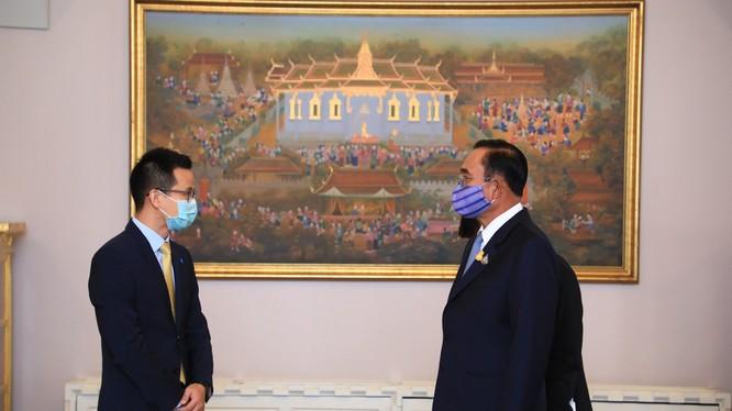 Thủ tướng Thái Lan gặp gỡ CEO Huawei Thái Lan