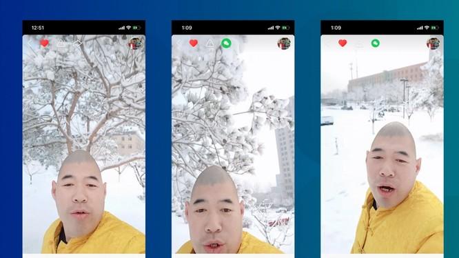 """Trương Ái Khâm với cái đầu trứng hát vài câu trong bài """"Một nhành mai"""" sau đó đã trở thành meme toàn cầu (ảnh: SCMP)"""