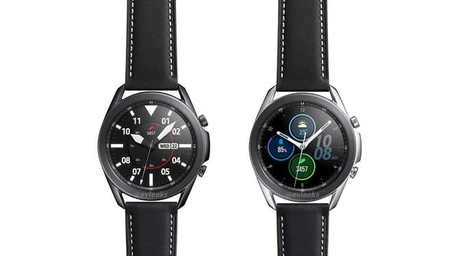 Samsung Galaxy Watch 3 (ảnh: Evan Blass)