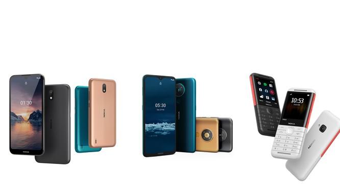 Một số mẫu điện thoại của Nokia