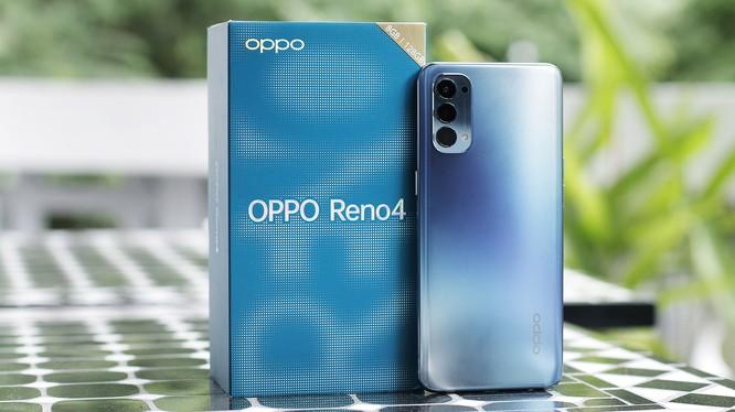 Chiếc Reno4 của Oppo