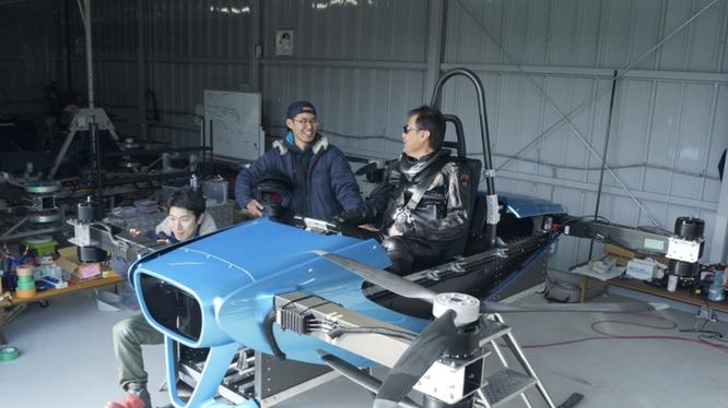 Ô tô bay dạng cất hạ cánh thẳng đứng đang được nhiều hãng nghiên cứu sản xuất (ảnh: SkyDrive)