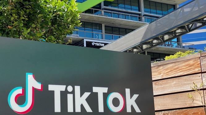 Chi nhánh của TikTok ở Culver City, California (ảnh: AFP)
