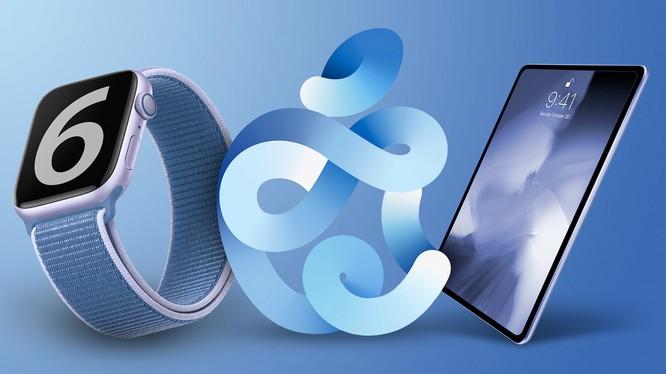 iPad Air 4 và Apple Watch 6 (ảnh: Apple)