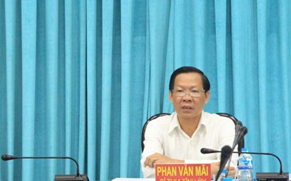 ông Phan Văn Mãi - Bí thư tỉnh ủy Bến Tre (Ảnh: MIC)