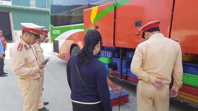 Xe khách là phương tiện phổ biến để vận chuyển lén lút động vật hoang dã (ảnh: ENV)
