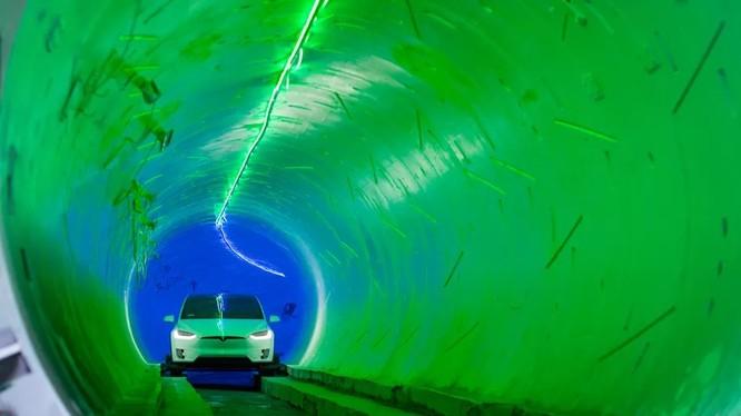 Đường hầm The Loop (ảnh: công ty Boring)