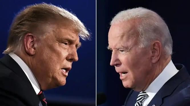 Ông Donald Trump và Joe Biden, ai sẽ trở thành Tổng thống Mỹ lần thứ 46? (ảnh AFP)