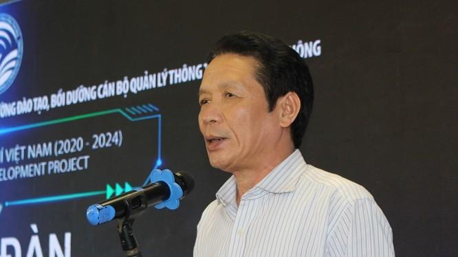 Thứ trưởng Bộ TT&TT Hoàng Vĩnh Bảo phát biểu tại diễn đàn
