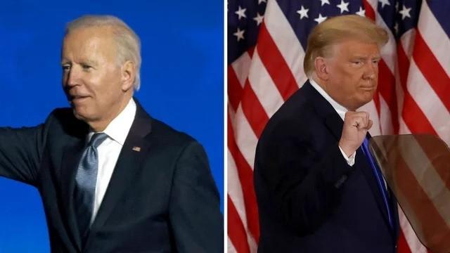 Một cuộc chiến pháp lý có thể nổ ra giữa ông Trump và ông Biden (ảnh: Getty Images)