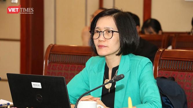 Bà Trần Thị Lan Hương - chuyên gia Ngân hàng Thế giới