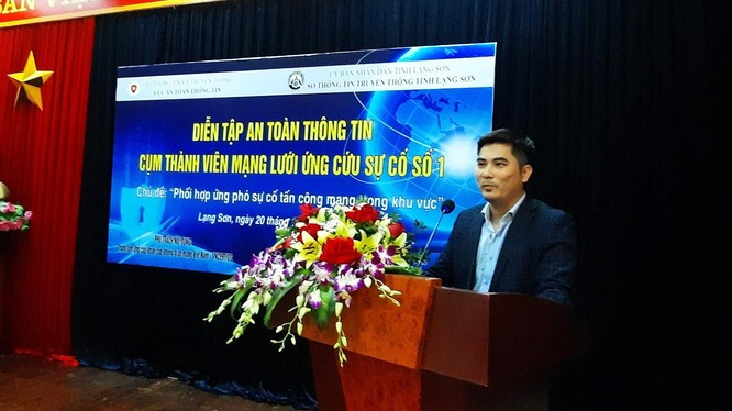 Ông Nguyễn Đức Tuân, quyền Giám đốc Trung tâm VNCERT (ảnh: Ngọc Tuất)