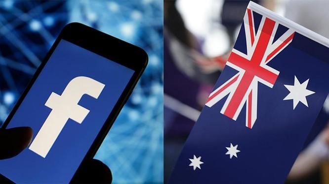 Facebook và Australia đang bất đồng quan điểm về việc trả tiền cho các hãng tin (ảnh: Adweek)