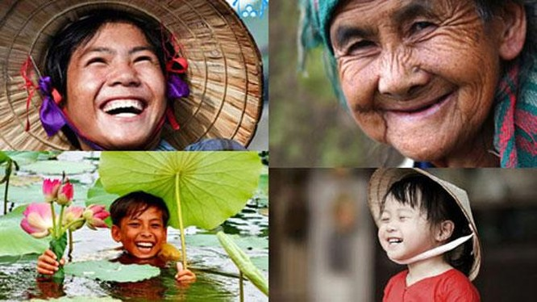 Việt Nam được đánh giá là quốc gia hạnh phúc nhất châu Á (ảnh: We25)
