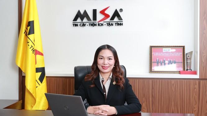 Bà Đinh Thị Thúy – Tổng Giám đốc Công ty Cổ phần Misa.