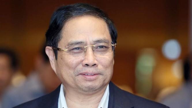Tân Thủ tướng Phạm Minh Chính