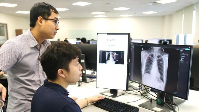 Dùng AI để phân tích ảnh X-quang phát hiện điểm bất thường