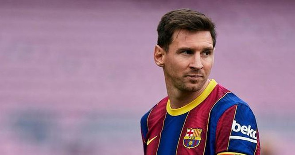 Chủ tịch La Liga - Javier Tebas thông báo Barca sẽ không gia hạn hợp đồng với Messi cũng như đăng ký các cầu thủ mới nếu như đội chủ sân Camp Nou không cắt giảm được 50% tiền lương của đội bóng. Ảnh Sky.