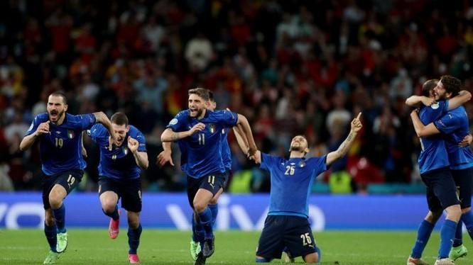 Đội tuyển Italia liệu có giành được chiến thắng trên sân Wembley? (ảnh: Forza Italia Football)