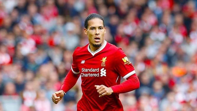 Van Dijk là chốt chặn tin cậy trong hàng phòng ngự của Liverpool
