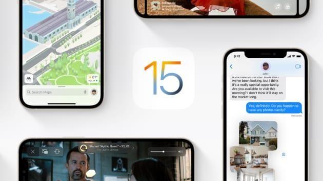 iOS 15 là hệ điều hành mới nhất dành cho iPhone (ảnh Apple)