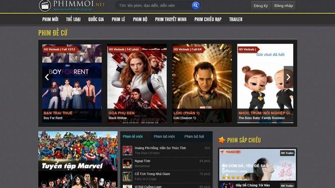 Đây là website phát lậu phim lớn nhất Việt Nam
