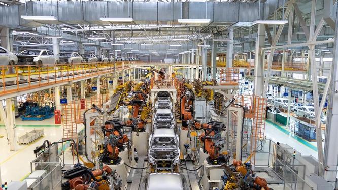 Nhà máy Trường Hải đã tự động hóa nâng cao năng lực sản xuất nhíp ô tô từ 6 nghìn tấn/năm lên 10 nghìn tấn/năm và giảm 5% chi phí sản xuất hàng năm