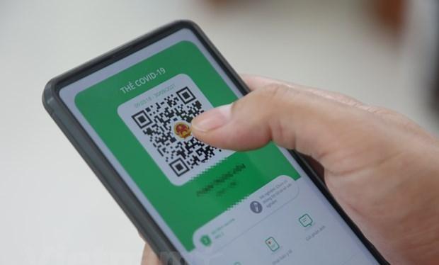 Ứng dụng PC-Covid được cập nhật trên Apple Store và Google Play ngày 30/9 (ảnh: Minh Sơn/VNP)