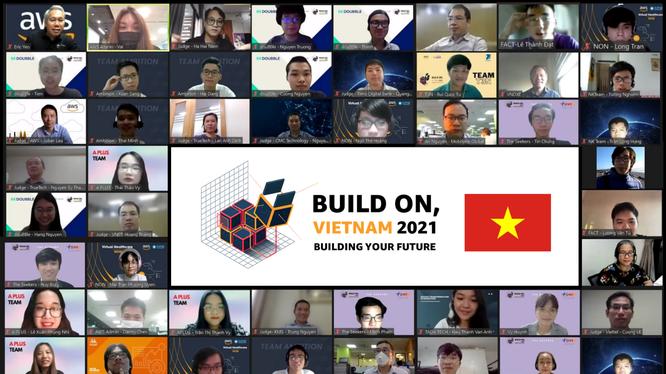 Livestream chung kết cuộc thi Build on, Vietnam 2021