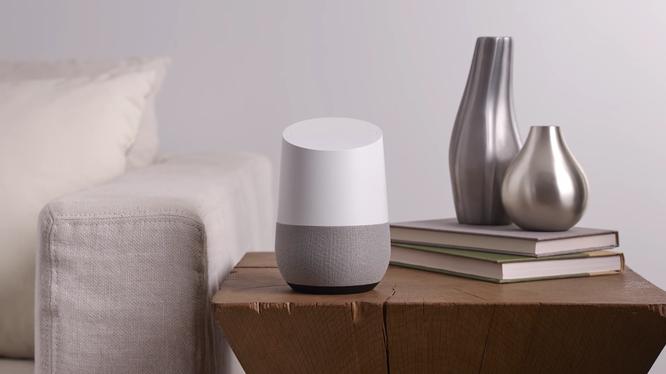 Loa thông minh Google Home (ảnh: Business Insider)
