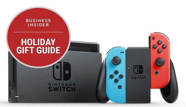 Máy chơi game Nintendo Switch sẽ sớm hết hàng, hãy nhanh tay chọn cho mình một chiếc (Ảnh Nintendo)