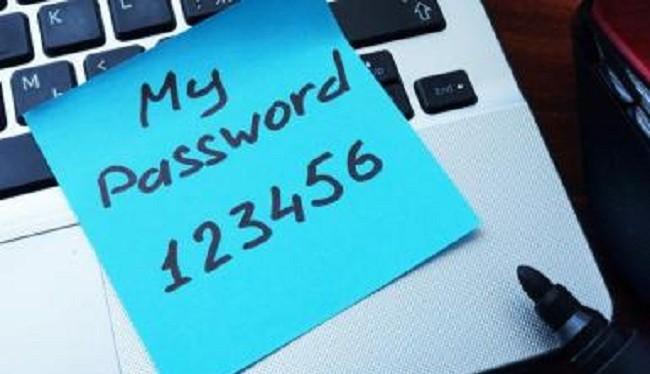 Mật khẩu ngắn rất dễ bị đánh cắp (Ảnh Google)