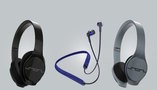 Các mẫu tai nghe Sol Republic Shadow Fusion, Soundtrack Wireless, and Soundtrack Pro Wireless (Ảnh Sol Republic)