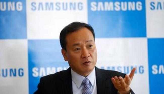 Samsung sẽ phát hành dòng điều hòa nhiệt độ điều khiển bằng AI vào cuối tháng 1/2018 (Ảnh Reuters)