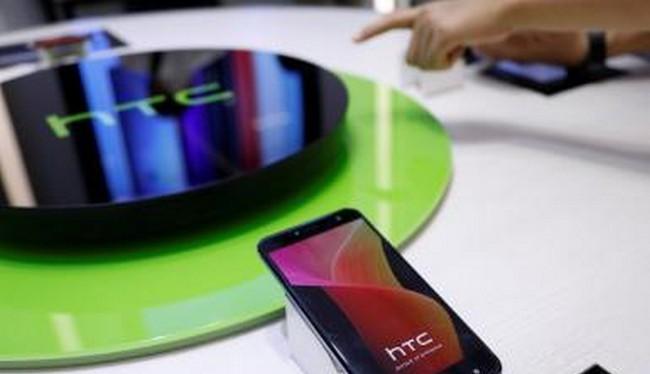 HTC U12 đã lộ diện trong một sự kiện về mạng 5G tại Đài Loan (ảnh Reuters)