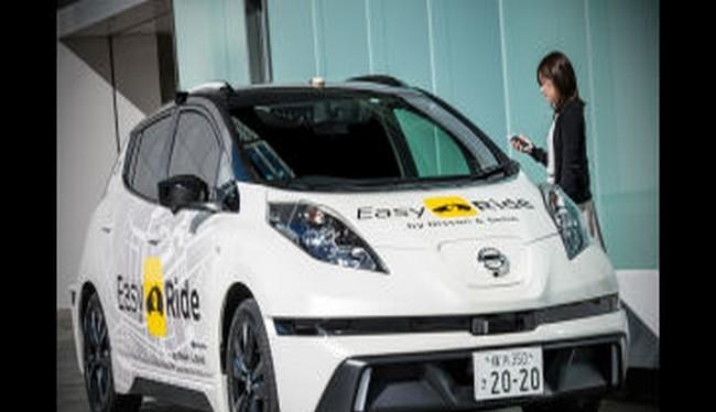 Nissan sẽ phát hành dịch vụ taxi tự lái vào tháng tới tại Nhật Bản (Ảnh The Verge)