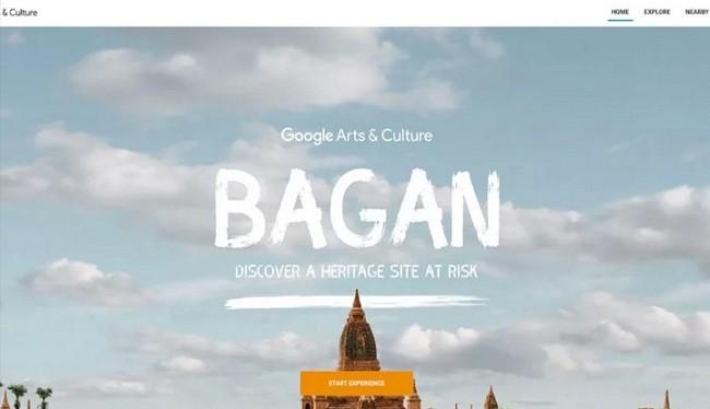 Hình ảnh ngôi đền Ananda Ok Kyaung ở Myanma đã được CyArk phục dựng (Ảnh Google)