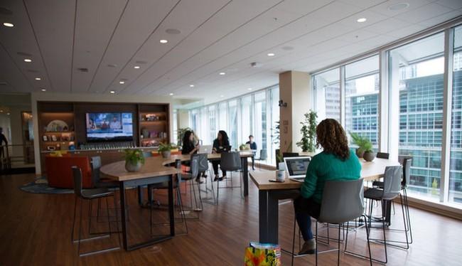 Tòa tháp Salesforce được đưa vào sử dụng (Ảnh Business Insider)