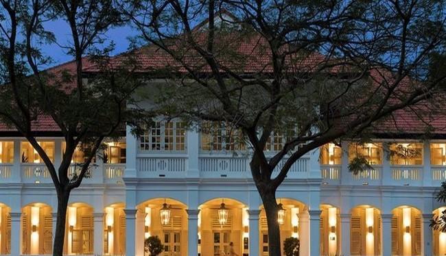 Khách sạn Capella ở hòn đảo Sentosa, Singapore (ảnh Reuters)