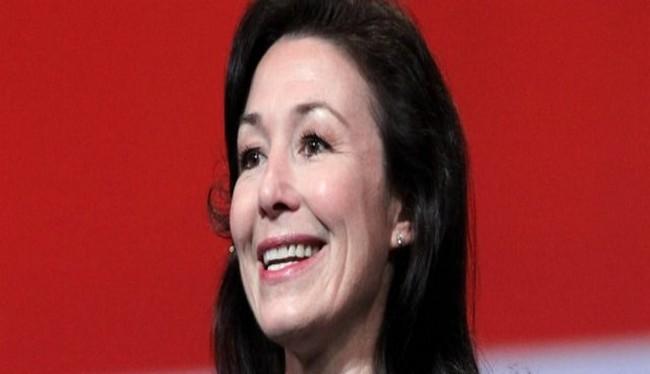 Bà Safra Catz, CEO của tập đoàn Oracle, là một trong những người hưởng lương cao nhất thế giới trong lĩnh vực AI (Ảnh Getty Images)