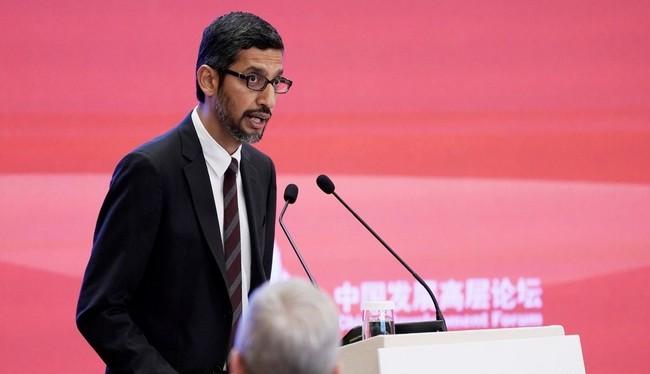 CEO Google Sundar Pichai (Ảnh Reuters)