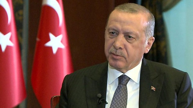 """Tổng thống Thổ Nhĩ Kỳ Recep Tayyip Erdogan sẽ """"không thể quên"""" bức thư của Tổng thống Mỹ Donald Trump (Ảnh: BBC)"""