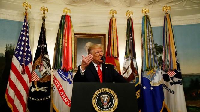 Mỹ kiên định với mục tiêu chống khủng bố (Ảnh: Reuters)