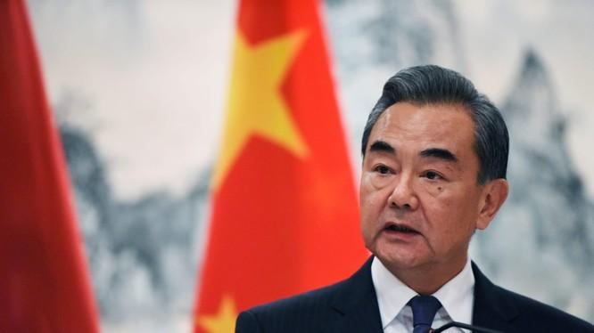 Bộ trưởng Ngoại giao Trung Quốc Vương Nghị (Ảnh: Reuters)