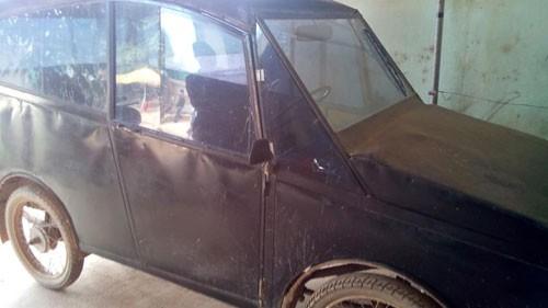 Nghệ An: Tự chế ô tô 30 triệu, chạy 100 km hết 4 lít xăng