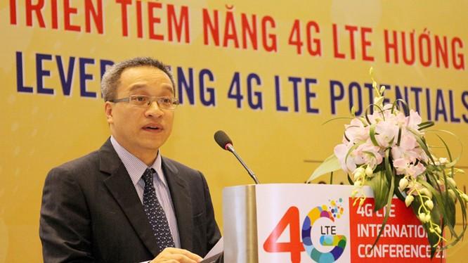 Thứ trưởng Phan Tâm phát biểu tại Lễ khai mạc Hội thảo.
